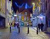 Night Scene Lincoln Street