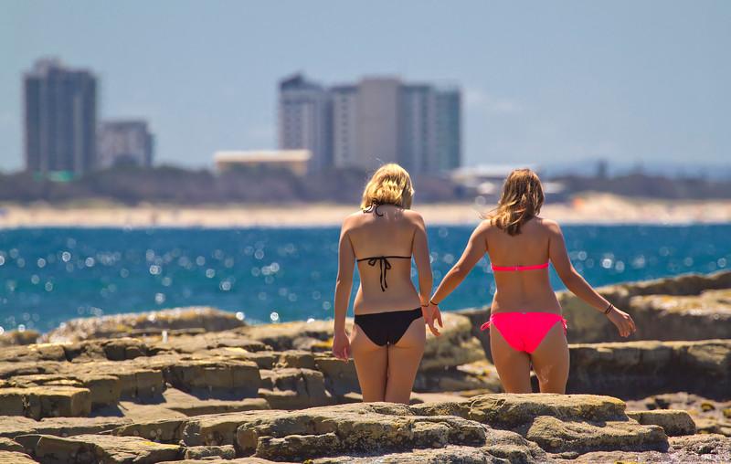 Making Their Way Mooloolaba, Sunshine Coast, Queensland, Australia