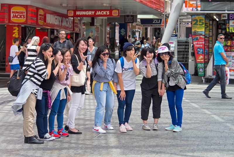 Tourists Brisbane