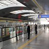 Beijing Subway Huoying Metro Station, Line 13 Eastbound Platform (to Dongzhimen)