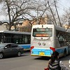 Huayu BJD-WG-120EK Trolleybus operating Beijing Public Bus Route 106