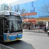 Huayu BJD-WG-120EK Trolleybus operating Beijing Public Bus Route 106