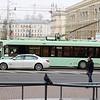 Minsktrans Belkamunmash BKM-321 Trolleybus, No. 4634 (s/n 430) & BKM-213 Trolleybus, No. 2136 (s/n 128)