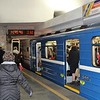 Minsk Metro (Minski mietrapaliten) Plošča Lenin Station