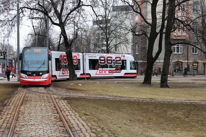 Rigas Satiksme Škoda 15T Tram