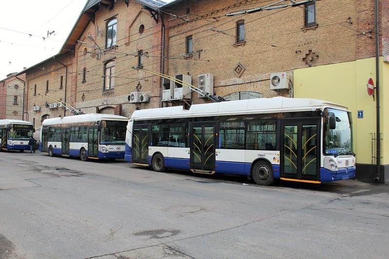 Rigas Satiksme Škoda 24Tr Irisbus Trolleybuses