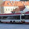 Susisiekimo Paslaugos (SP) Solaris 15 Trollino Trolleybus No.1708 and No.1700 Vilnius