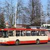 Susisiekimo Paslaugos (SP) Škoda 14Tr Trolleybus No.2561 Vilnius