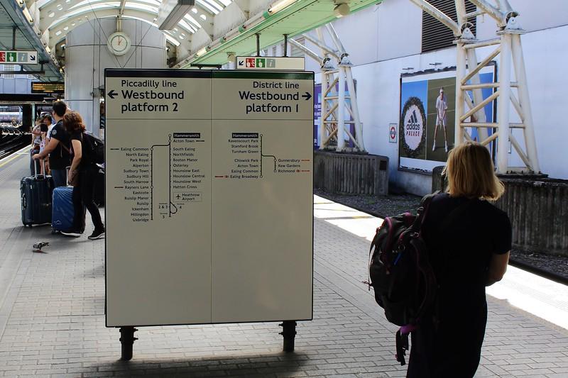 TfL London Underground Hammersmith Station