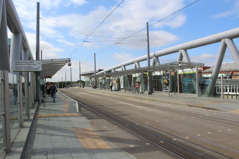 Nottingham Express Transit (NET) Nottingham Station