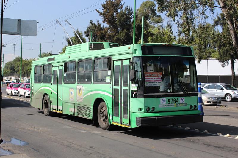 Servicio de Transportes Eléctricos MASA-Mitsubishi Trolleybus No. 9764, Mexico City