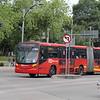 Volvo 7300 articulated bus No. 046 – CDMX Metrobus BRT, Mexico City