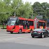 DINA BRighTer articulated bus No.132 - CDMX Metrobus BRT, Mexico City