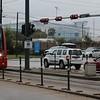 METRORail Siemens S70 Avanto LRV No. 219 approaches Smith Lands Station