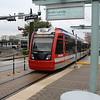 METRORail CAF Urbos LRV No. 307 arriving Smith Lands Station