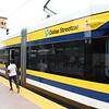 DART (Dallas Area Rapid Transit) Dallas Streetcar BEC Liberty Car No. 302 at Bishop Arts Terminus