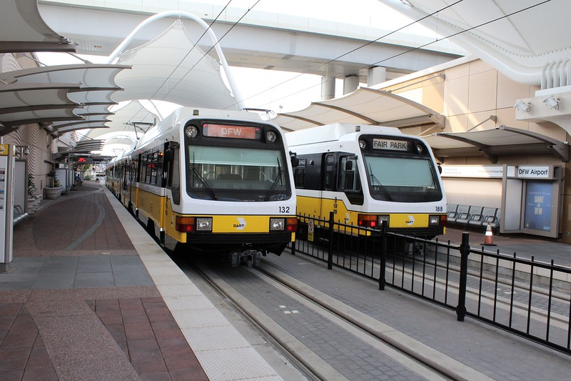 DART (Dallas Area Rapid Transit) DFW Airport Station, Orange Metro Line Terminus