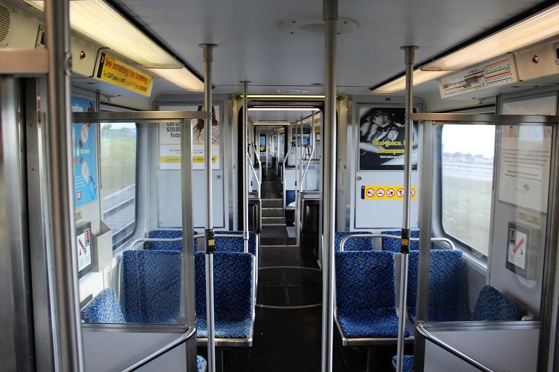DART (Dallas Area Rapid Transit) Kinki Sharyo Super Light Rail Vehicle (SLRV) vehicle No. 132