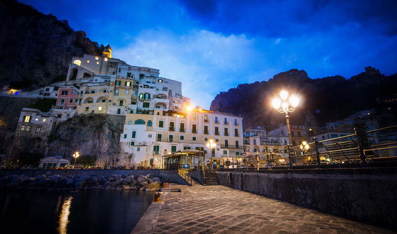 Amalfi at Night