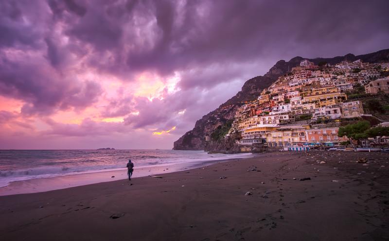 Positano's Miracle Sunset