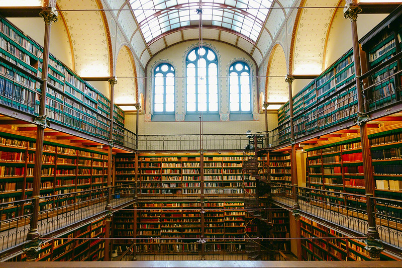 Library at Rijksmuseum