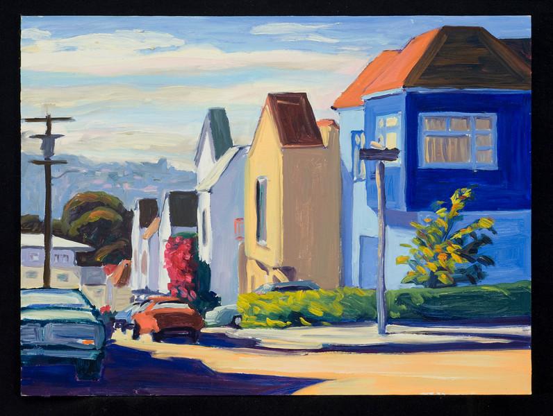 "San Francisco, Osage, 2005, 10x14"", oil on panel"