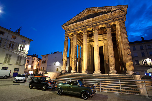Roman temple, Vienne, France.
