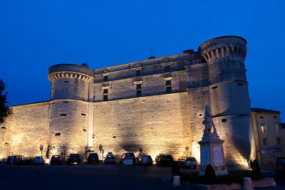 Chateau de Gordes, France.