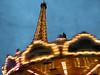 Eiffel tower and caroussel, Paris, France.