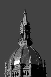 the capitol building, hartford