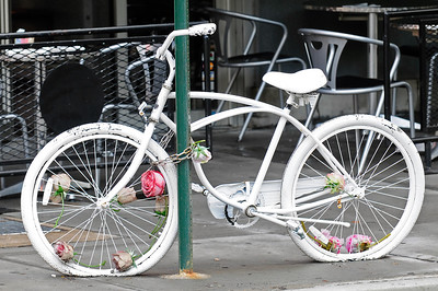 """white bicycle"" greenwich village nyc"