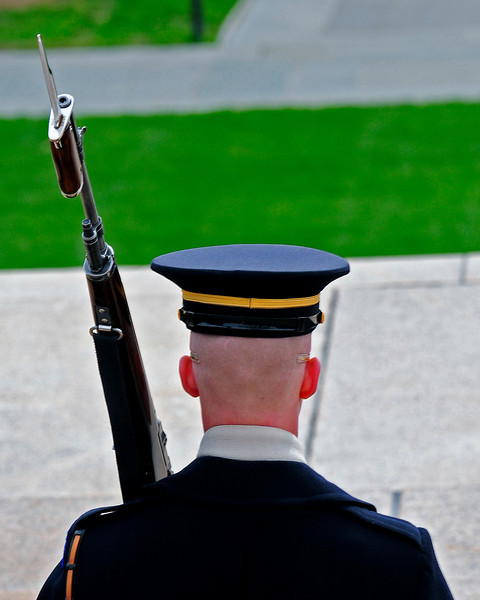 The Changing of the Guard Arlington National Cemetary