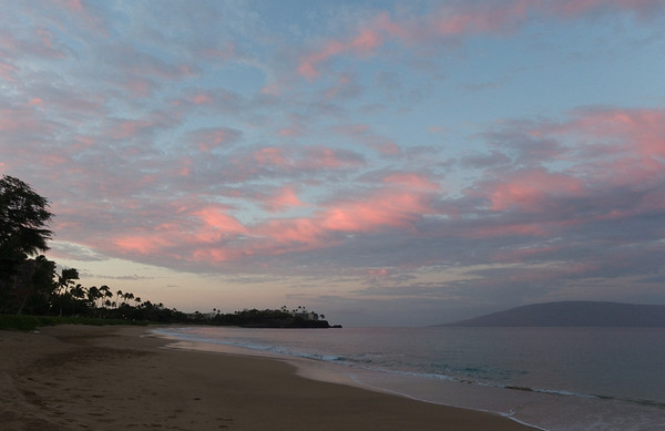 2012-10 Maui, Day 4  Sunrise from Kahekili Beach