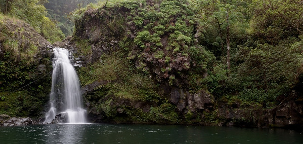 2012-10 Maui, Day 5  Wailuaiki Falls