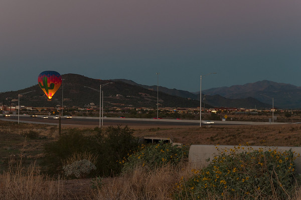 2013-12 Hot Air Balloons