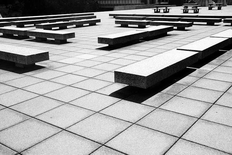 Benches and Tiles