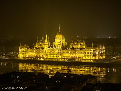 Parlament von der Fischerbastei