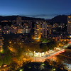 West End Vancouver City at Night