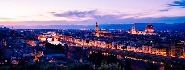 Florentine twilight