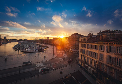 Marseille sunset