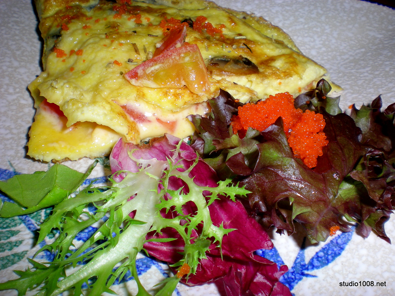 fusion omelette