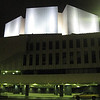 Finlandia Concert Hall<br /> Alvar Aalto, architect<br /> white marble favored by Aalto requires lots of expensive upkeep