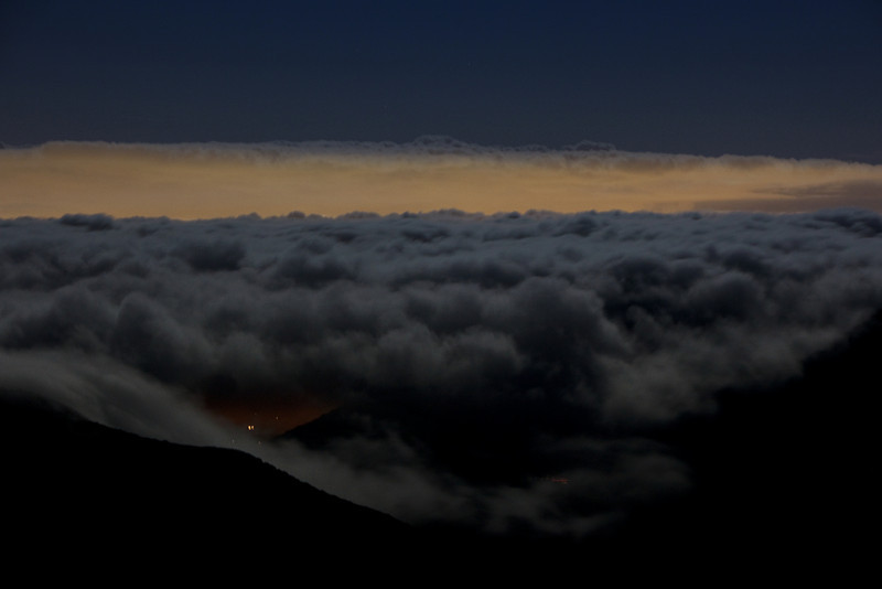 A Marine Layer Covers Los Angeles