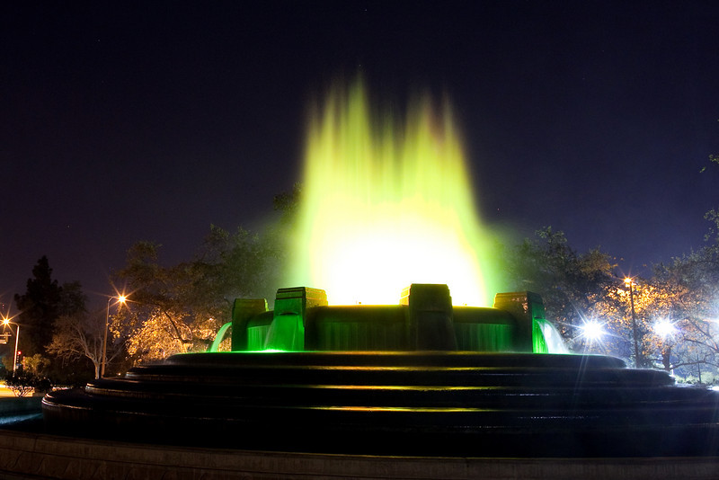 Mulholland Fountain, Los Angeles