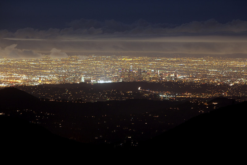 Los Angeles from the San Gabriel Mountains