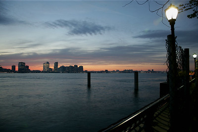 Lower Manhattan - Sunset