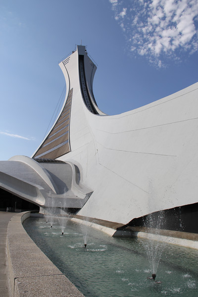 Montreal Olympic Stadium Tower