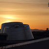 Planetarium building at Sunrise
