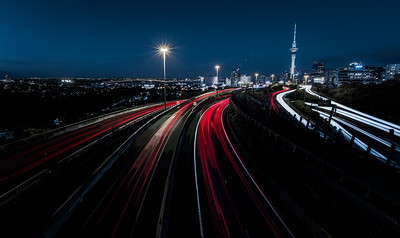 Red into Auckland