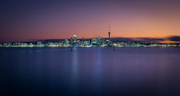 Auckland twilight